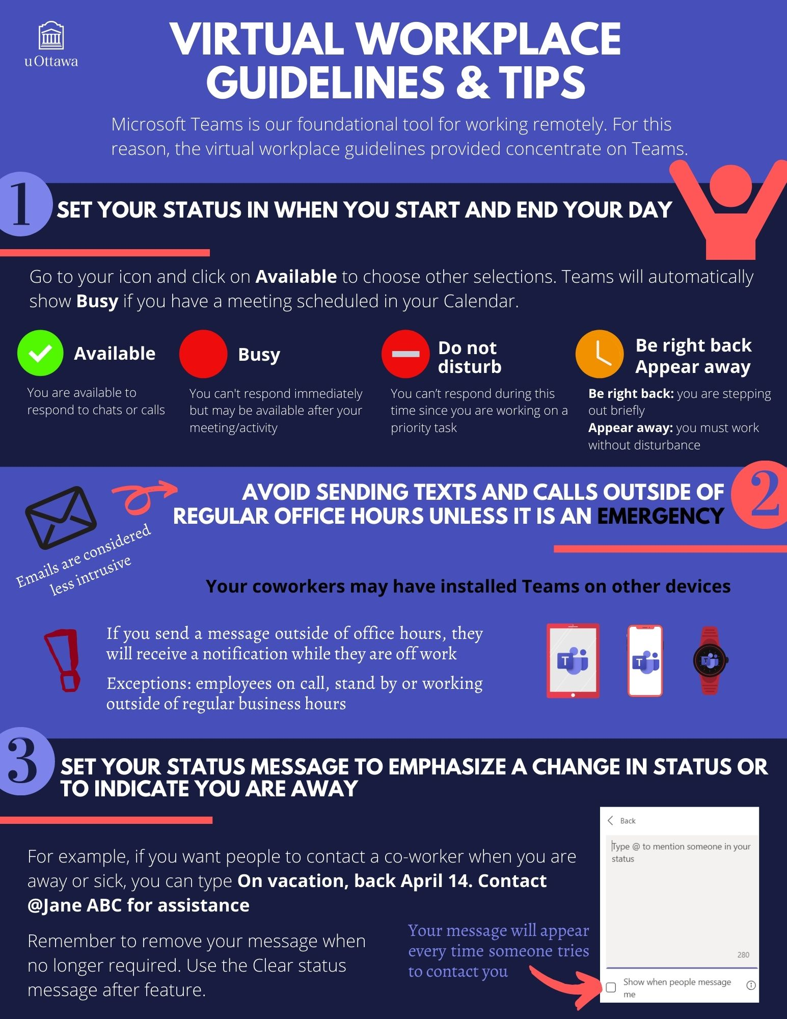 infographic virtual workplace