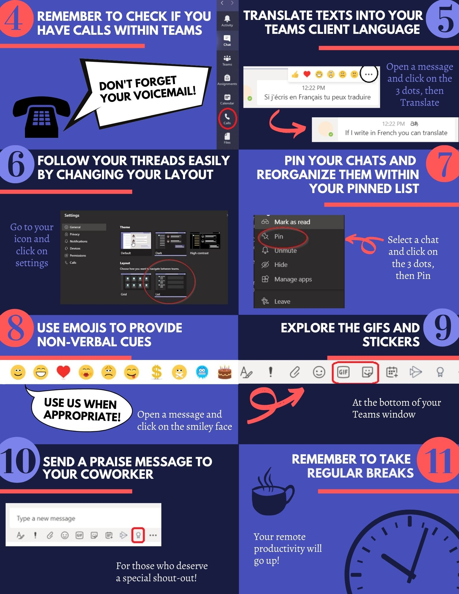 infographic MS teams