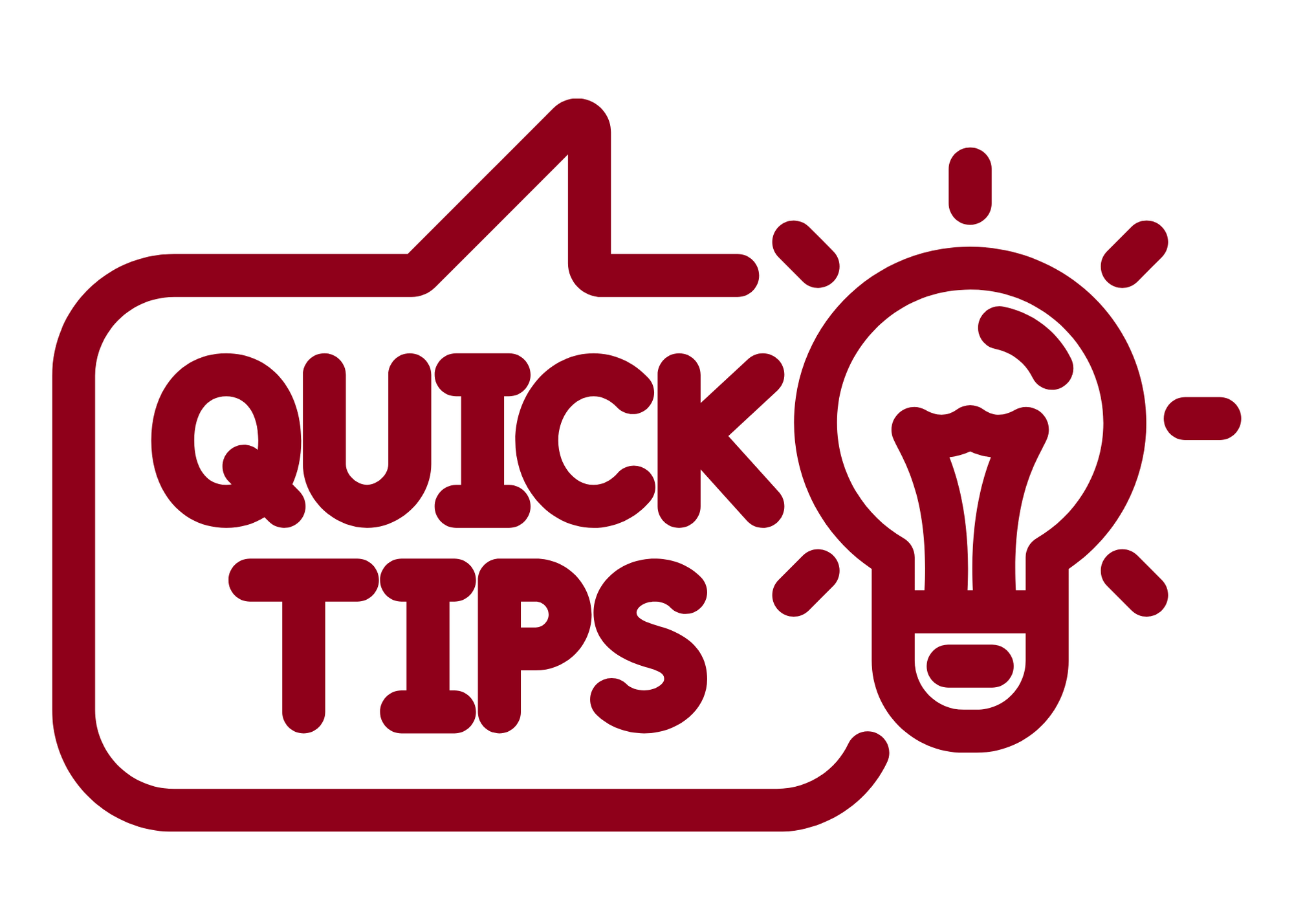 Quick tips image