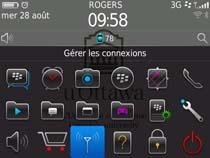 Accédez au réseau sans fil uOttawa-WPA avec BlackBerry OS 6 et 7 - étape 1