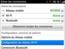 Accédez au réseau sans fil uOttawa-WPA avec BlackBerry OS 6 et 7 - étape 3
