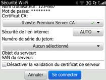 Accédez au réseau sans fil uOttawa-WPA avec BlackBerry OS 6 et 7 - étape 8