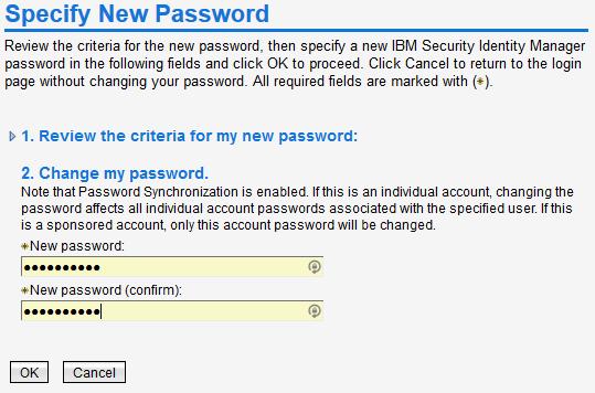 Where do I change my password? step 3
