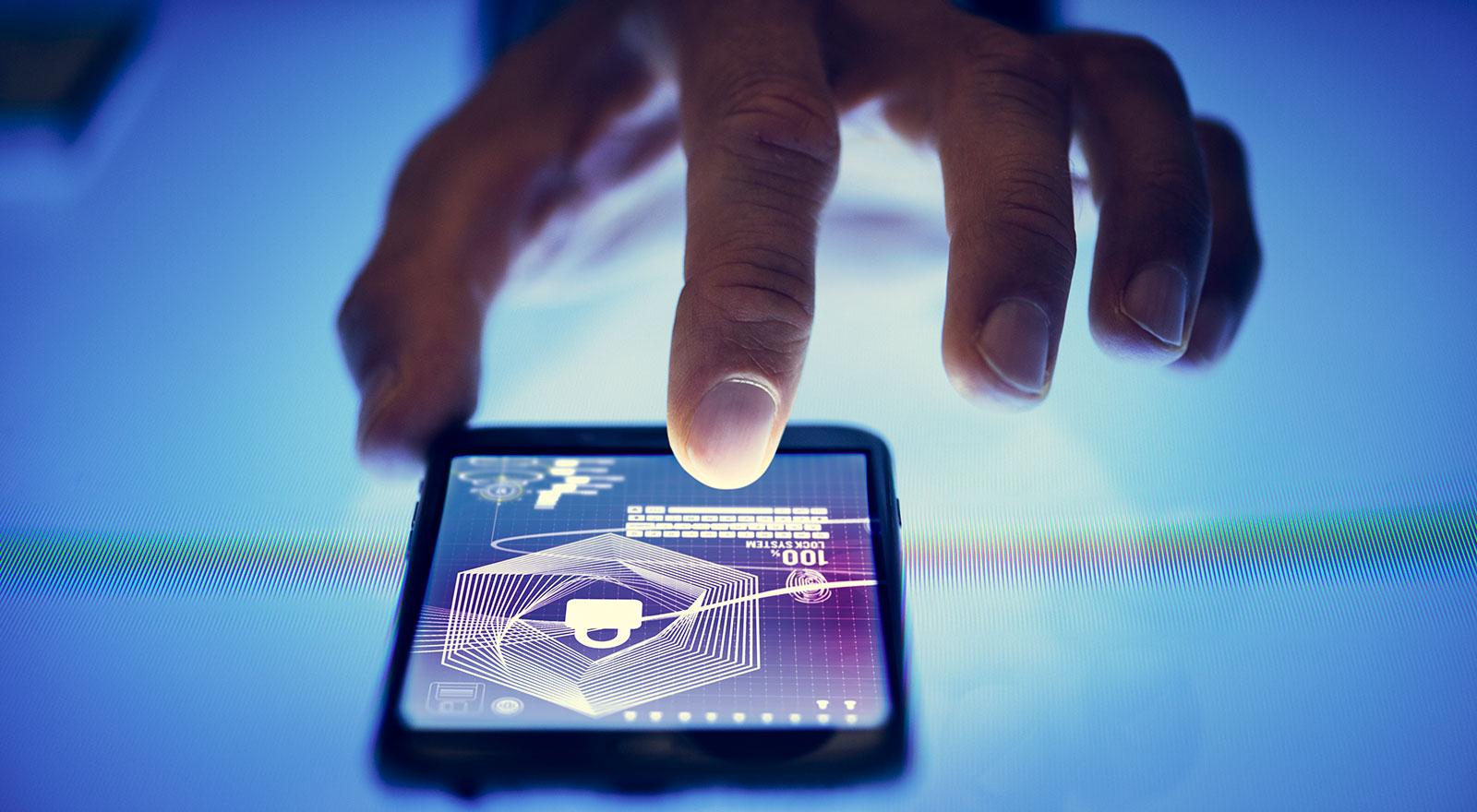 64/5000 Image vectorielle d'un homme debout devant l'écran de saisie du mot de passe