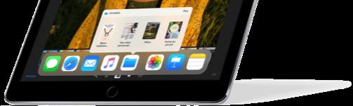 iOS 11, Dock d'applications