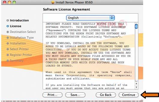 Installation of Relmon Colour Printer - Mac OS X 10 6 to