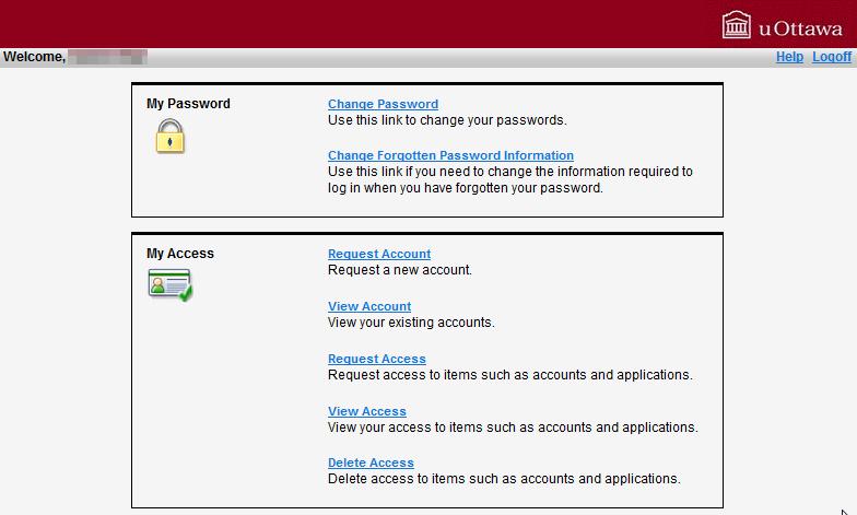 uoAccess Account Self-Serve Help - Step 4