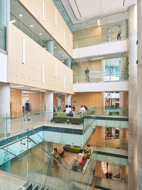 Atrium de l'Université d'Ottawa