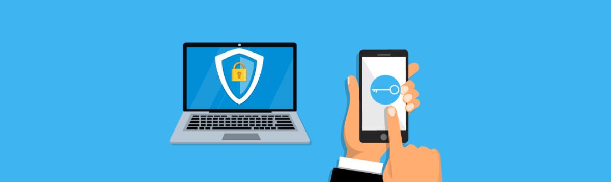 Graphique sur la sécurité des ordinateurs portables et des téléphones