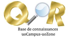Base de connaissances uoCampus-uoZone
