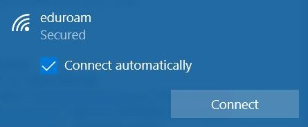 Step 3, click connect